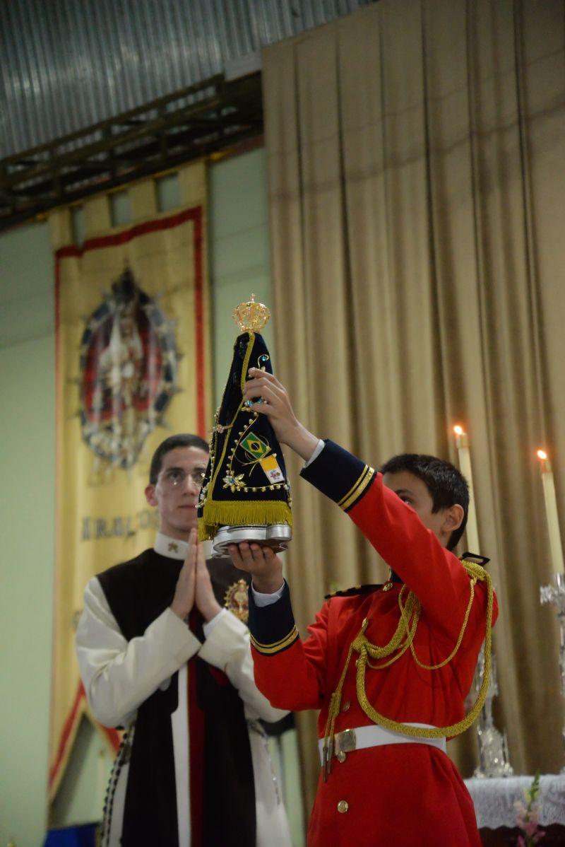 Solene Missa e Procissão em Honra a Padroeira do Brasil!