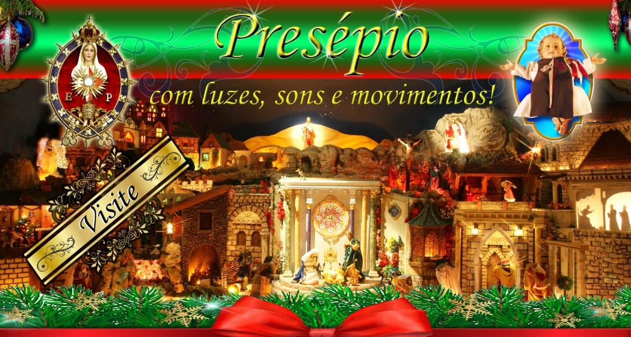 Venha visitar o presépio dos Arautos em Joinville!