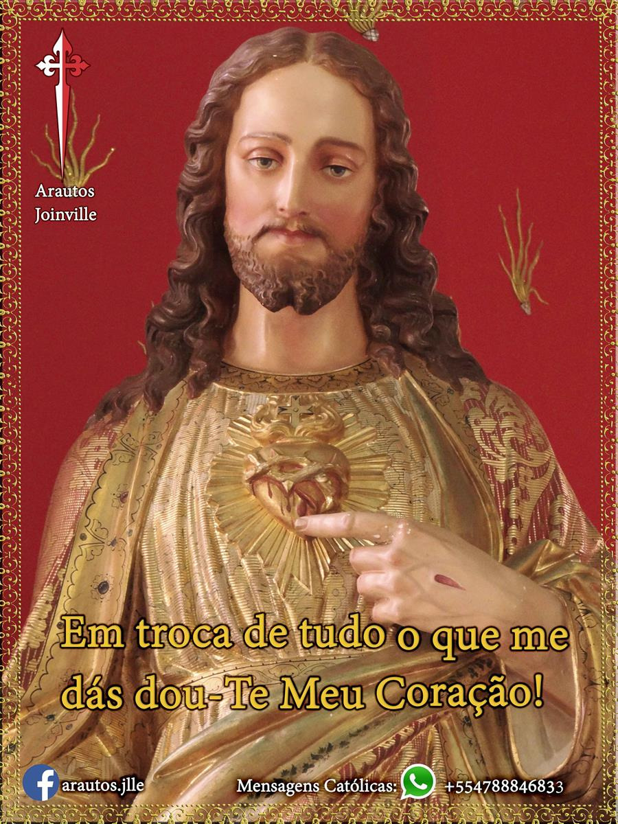 Estamos no mês do Sagrado Coração de Jesus!