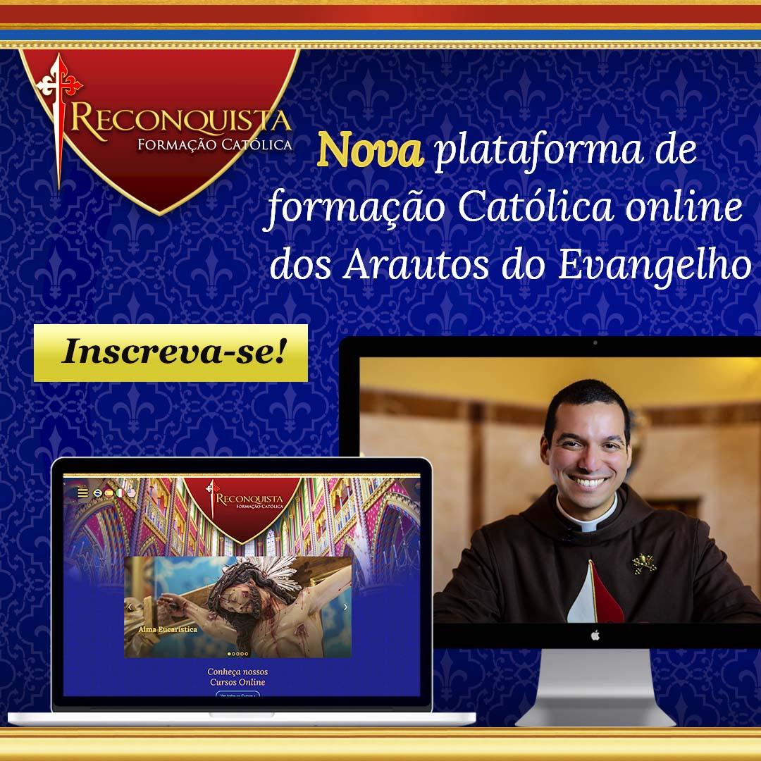 Nova Plataforma de Formação Católica